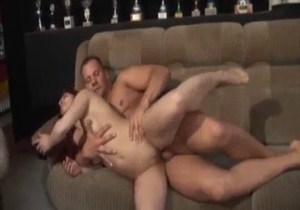 Daughter performs a blowjob for a daddy