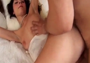 Young big ass babe enjoys nasty incest