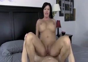 Desirable mom have awesome sex with a son